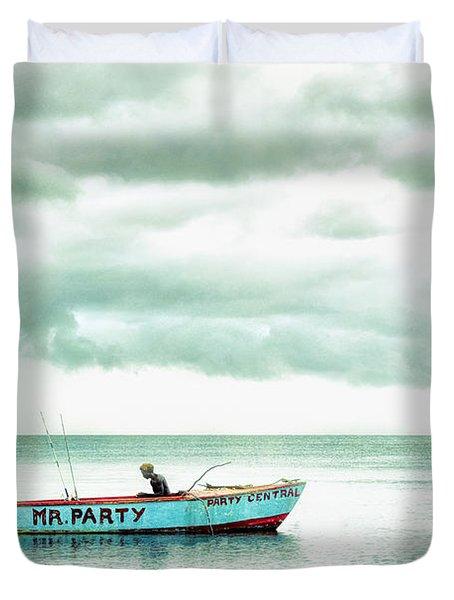 Mr. Party Duvet Cover