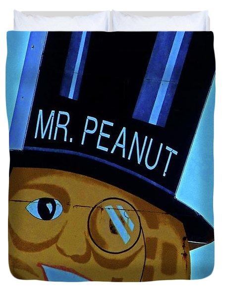 Mr Peanut 2 Duvet Cover