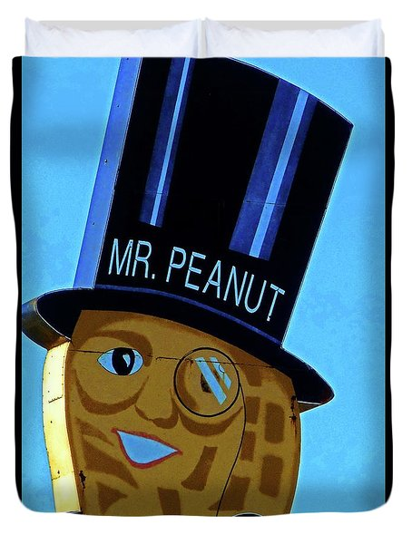 Mr Peanut 2 Duvet Cover