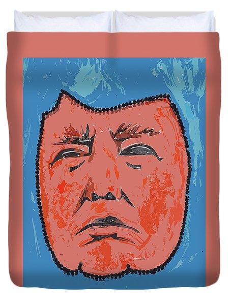 Mr. President Duvet Cover by Robert Margetts