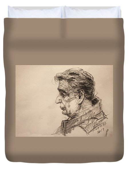 mr R Duvet Cover