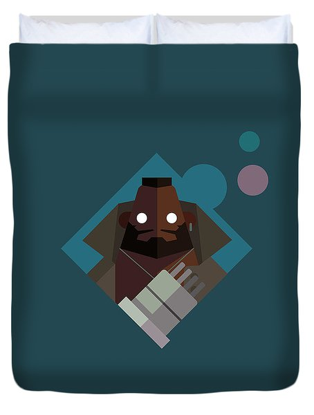 Mr. Wallace Duvet Cover