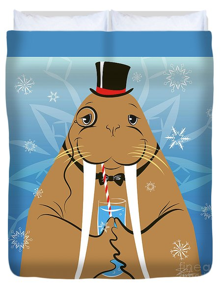 Mr. Walrus Duvet Cover