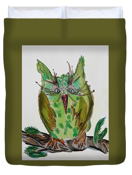 Mr.lime Owl Duvet Cover