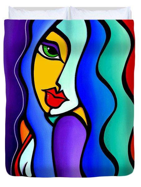 Mrs Brightside Duvet Cover