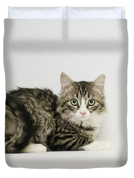 Ms Alexia And Mouse Duvet Cover