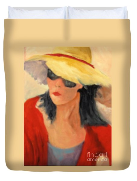 Ms Hollywood  Duvet Cover