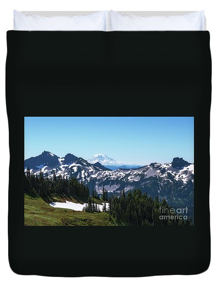 Mt Adams II Duvet Cover