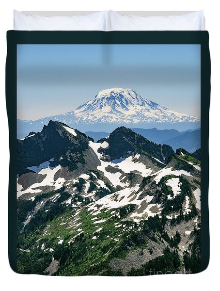 Mt Adams Duvet Cover
