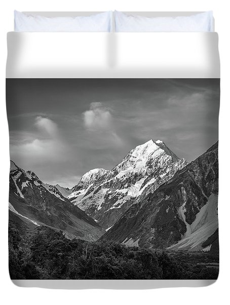 Mt Cook Wilderness Duvet Cover