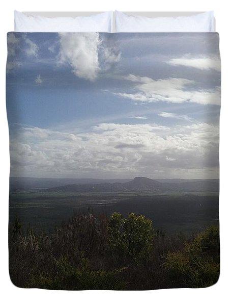 Mt Coolum Duvet Cover