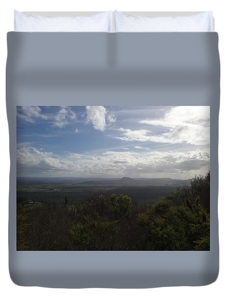 Mt Coolum Duvet Cover