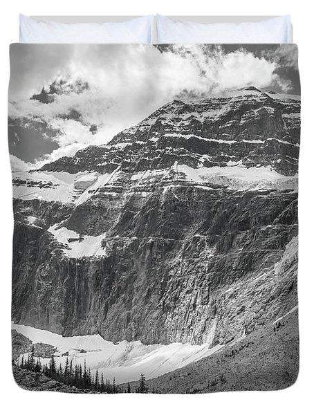 Mt. Edith Cavell Duvet Cover