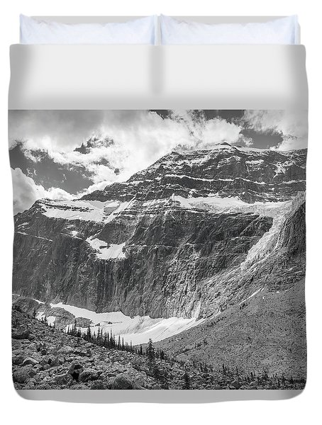Mt. Edith Cavell Duvet Cover