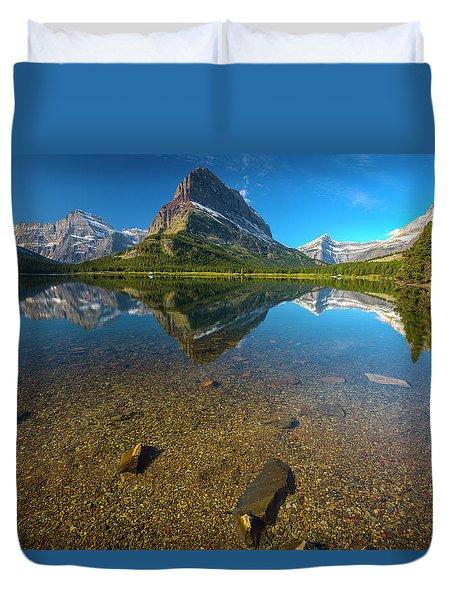 Mt. Grinnell Duvet Cover