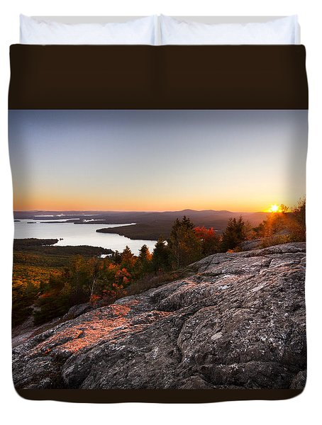 Mt. Major Summit Duvet Cover