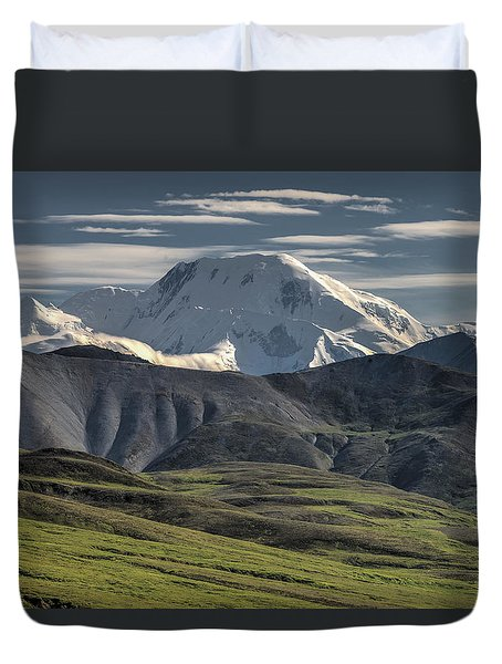 Duvet Cover featuring the photograph Mt. Mather by Gary Lengyel