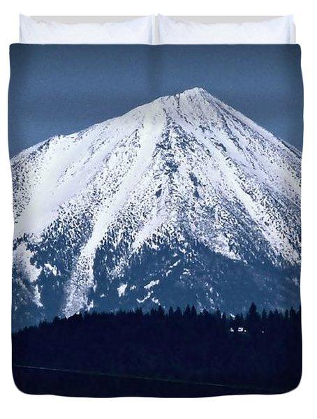Mt Mc Loughlin Duvet Cover