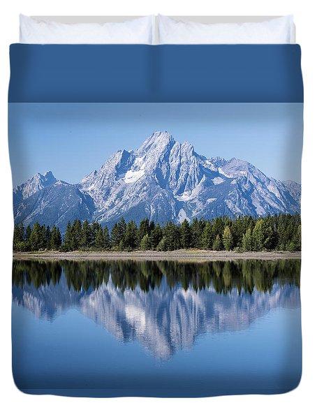 Mt. Moran Grand Tetons Duvet Cover