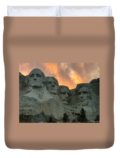 Mt. Rushmore Duvet Cover