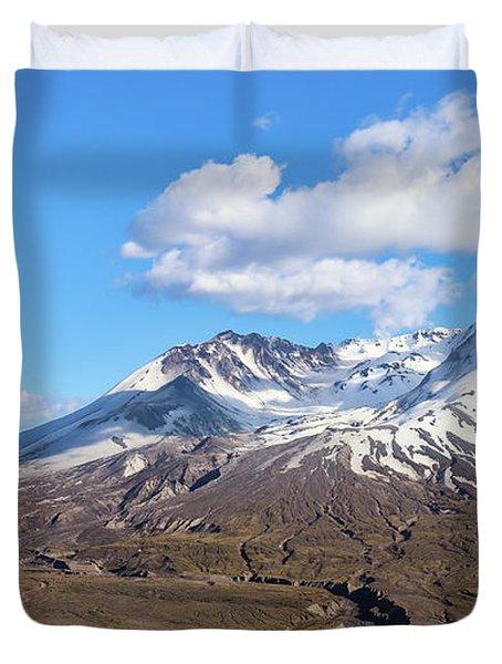 Mt Saint Helens Duvet Cover
