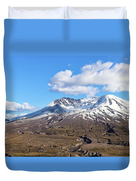 Mt Saint Helens Duvet Cover