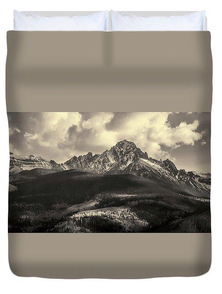 Mt. Sneffels Duvet Cover