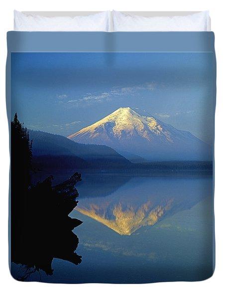 1m4907-v-mt. St. Helens Reflect V  Duvet Cover