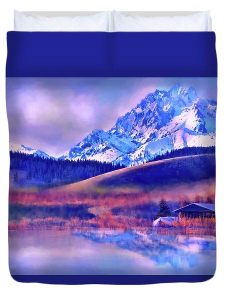 Mt. Stuart Duvet Cover