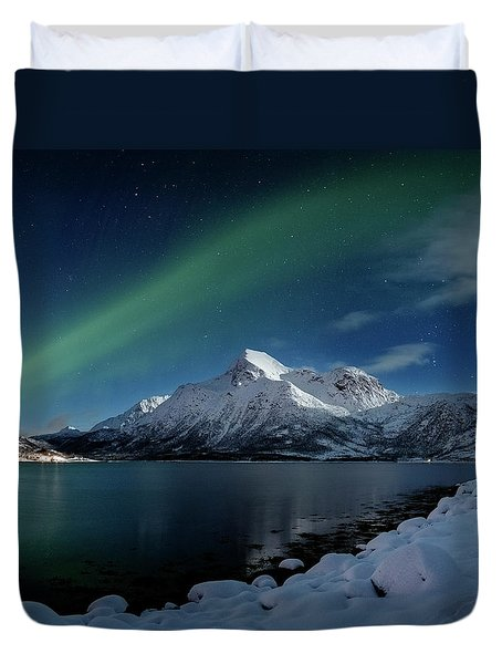 Mt Stortinden Duvet Cover