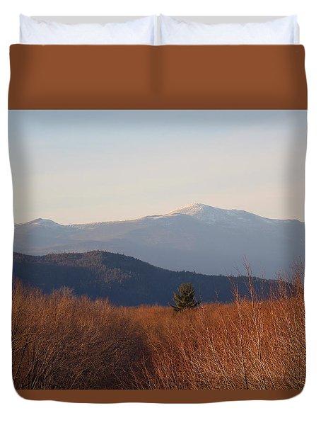 Mt Washington Nh Duvet Cover