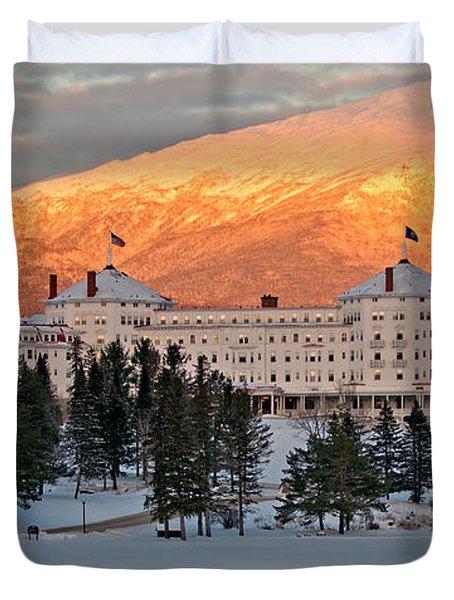 Mt. Washinton Hotel Duvet Cover