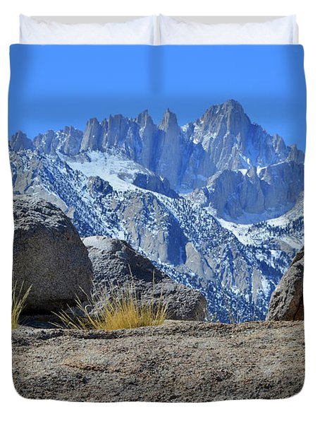 Mt. Whitney - Highest Point In The Lower 48 States Duvet Cover