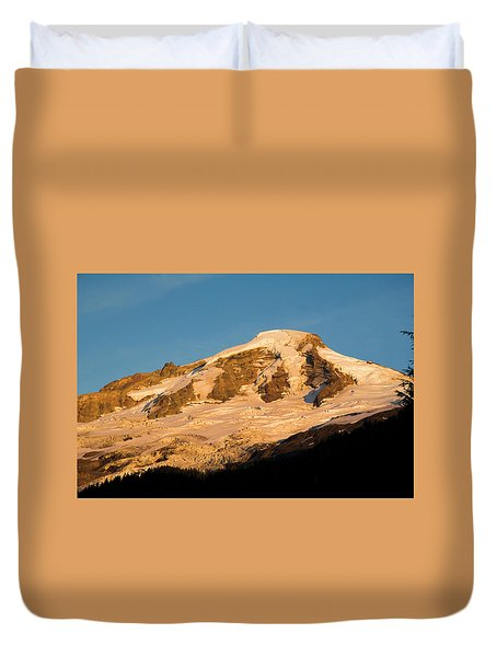 Mt.baker At Sunset  Duvet Cover