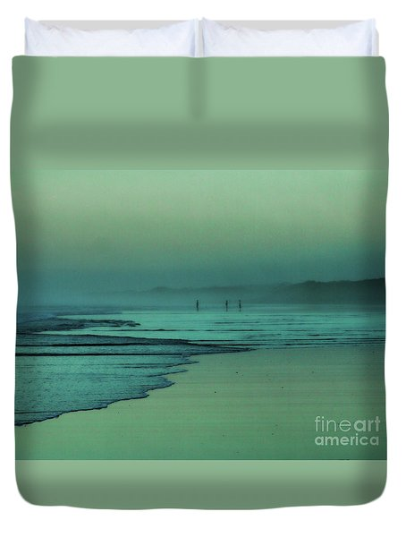 Muawai Sunset Duvet Cover