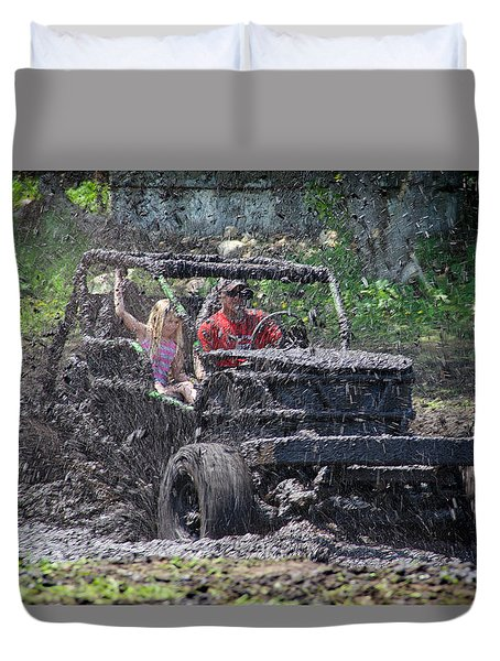 Mud Bogging Duvet Cover