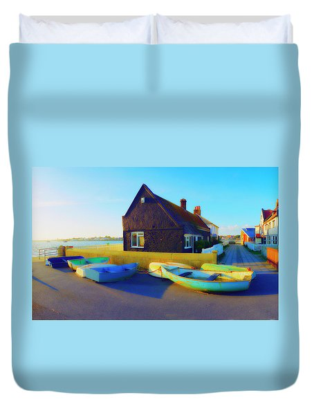 Muddage  Rowers Duvet Cover
