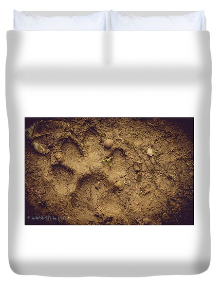 Muddy Pup Duvet Cover