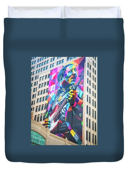 Muddy Waters Duvet Cover