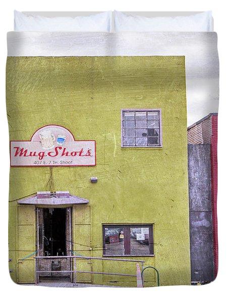 Mug Shots Austin Texas Duvet Cover