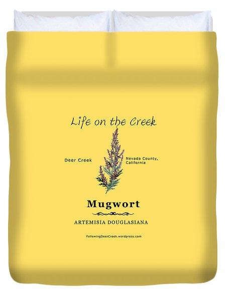 Mugwort Duvet Cover