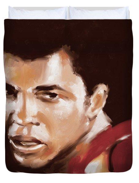 Muhammad Ali 551 1 Duvet Cover