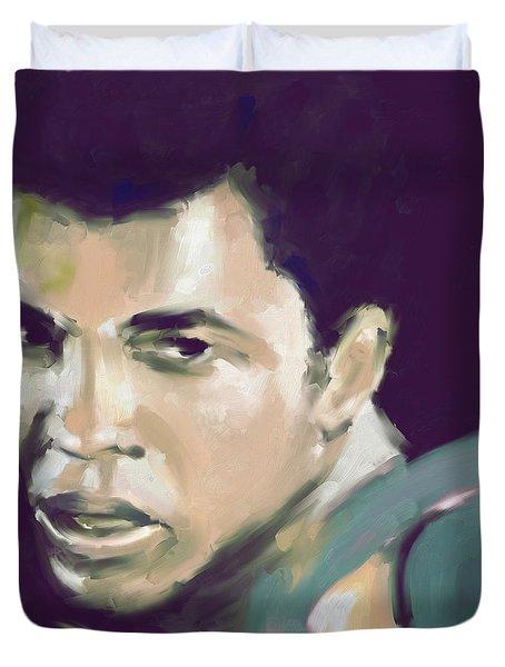Muhammad Ali 551 2 Duvet Cover