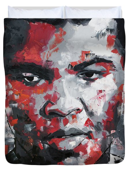Muhammad Ali II Duvet Cover