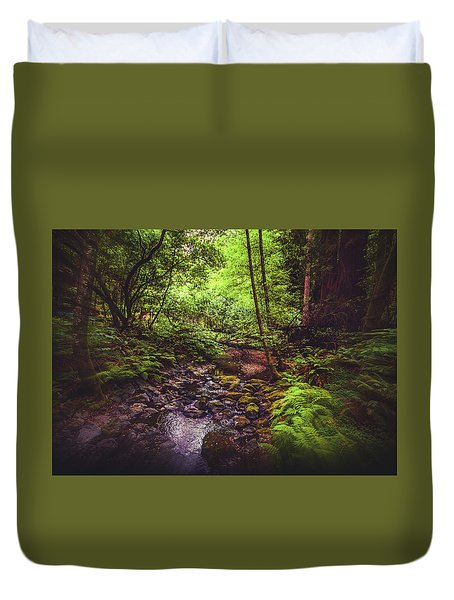 Muir Woods No. 3 Duvet Cover by Laura DAddona