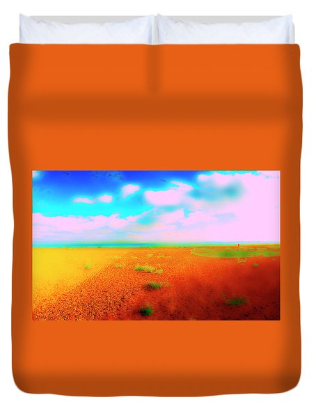 Mulberry Land Duvet Cover by Jan W Faul