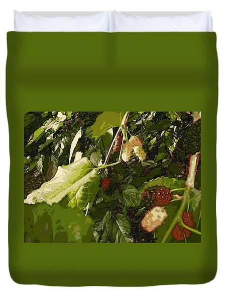Mulberry Moment Duvet Cover