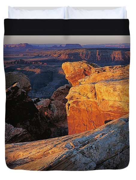 Muley Point Sunrise Duvet Cover
