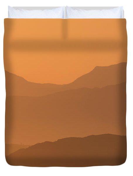 Mull Sunrise Duvet Cover