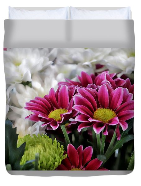 Multi Colored Array Duvet Cover